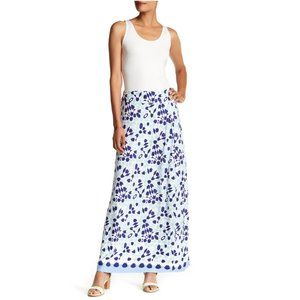 Tommy Bahama Border Tile Maxi Skirt XXXS